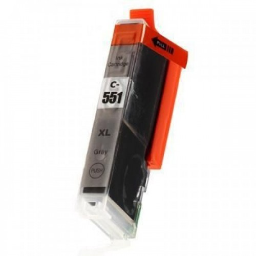Compatible CLI-551XL GREY Ink Cartridge for Canon Pixma printers