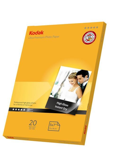 Kodak 7x5 Ultra Premium Glossy Photo Paper 5740-089 Pk 20