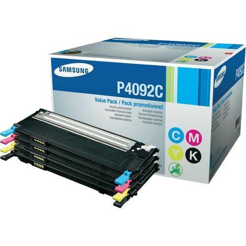 Samsung CLT-P4092C P4092C 4 Pack Toner BK/C/M/Y SU392A