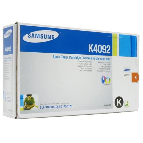 Samsung CLT-K4092S/ELS K4092S Black Toner