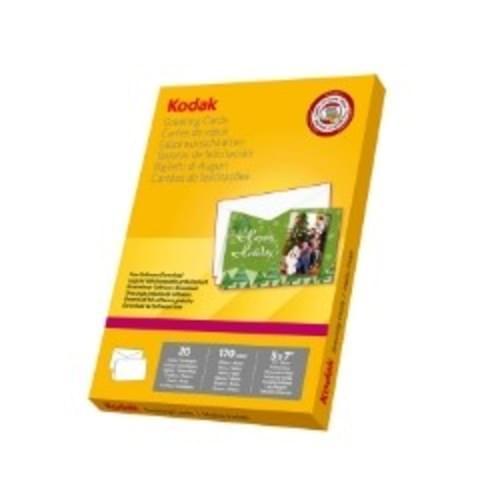 Kodak 7x5 Greeting Cards  5740-017 20 Sheets and Envelopes
