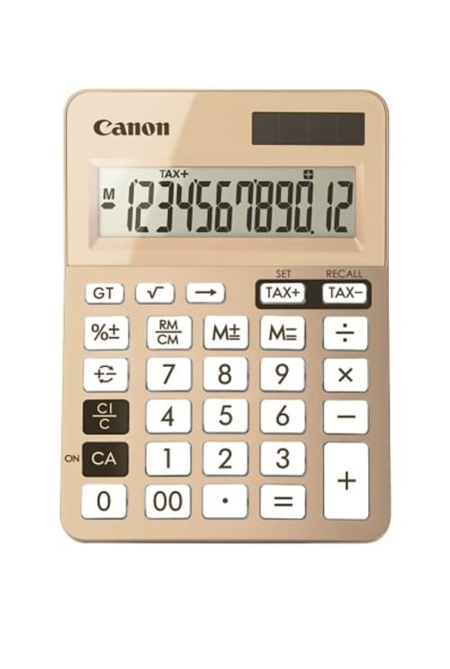 Canon LS-123K Dual power Mini desktop calculator with Tax function 12 Digit