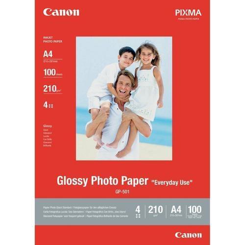 Canon GP-501 A4 Glossy Photo Paper 100 Sheets 0775B001
