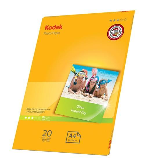 Kodak A4 Glossy Photo Paper 20 Sheets 5740-512