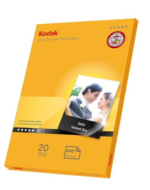 Kodak 5740-087 High Gloss Ultra Premium Photo Paper 10x15 cm, 280 g/m