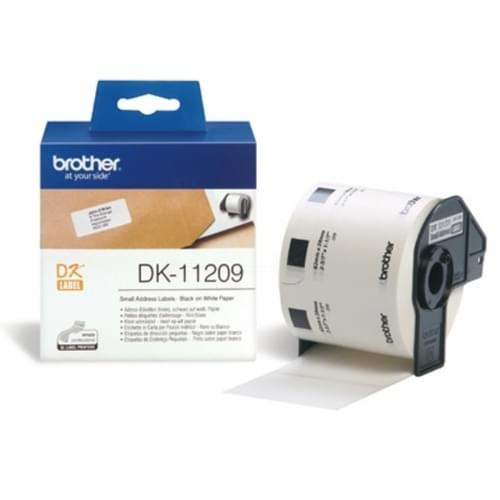 Brother DK-11209 P-Touch Labels 29mm x 62mm