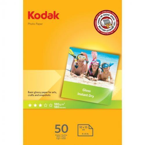 Kodak A6 180 gsm Photo Gloss Paper 5740-506 50 pk