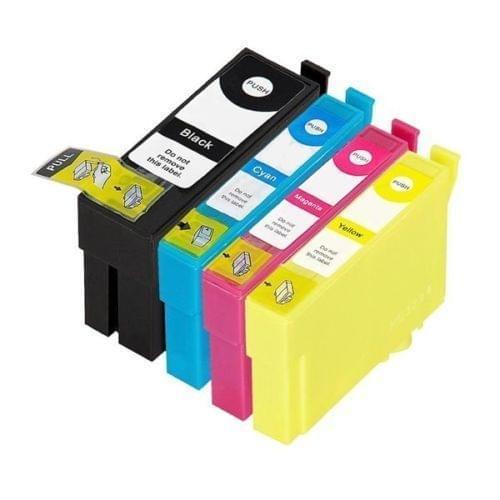 Compatible Epson 34XL Golf Ball Multipack Blk/Cyn/Mag/Ylw C13T34764010