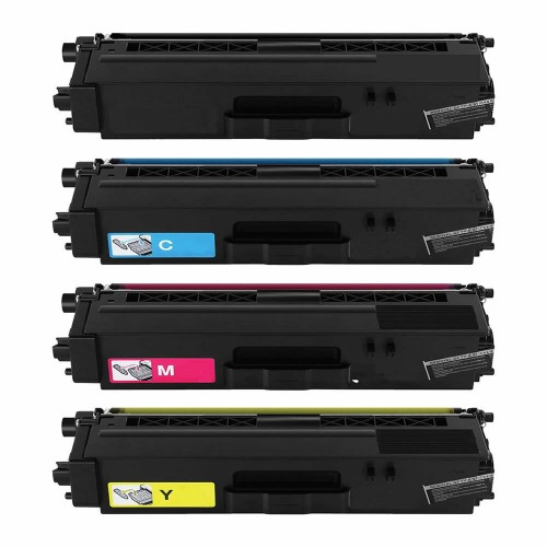 Compatible Brother TN421 Toner Set Black Cyan Magenta Yellow