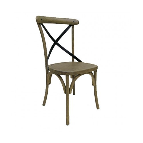 BAK Metal Cross Back Dining Chair | BAK-06-01 | BAK