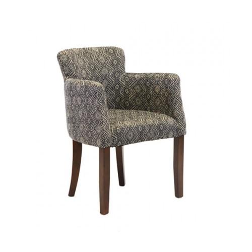 BAK Lorain Fully Padded Dining Chair