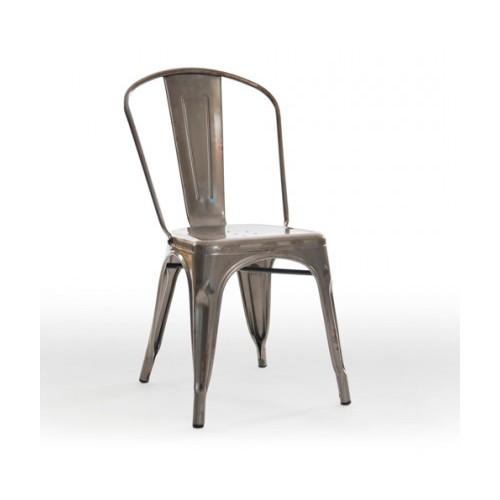 BAK Austin Metal Dining Chair