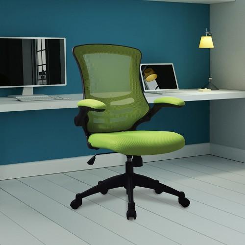 BAK Green Mesh Luca Chair | BAK-05-07-N | BAK