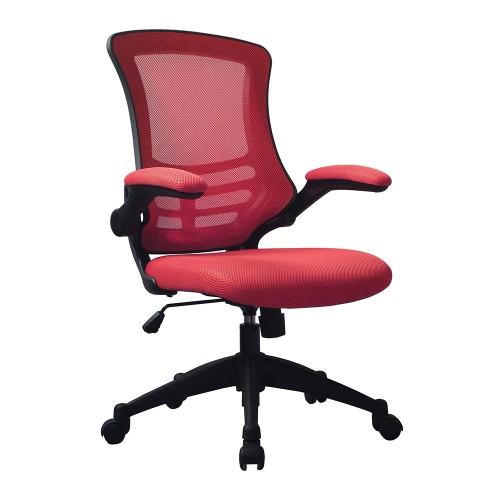 BAK Red Mesh Luca Chair