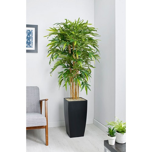 Bamboo Floor Standing Planter