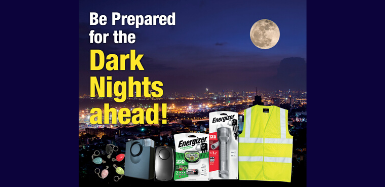 Be Prepared for the Dark Nights ahead!
