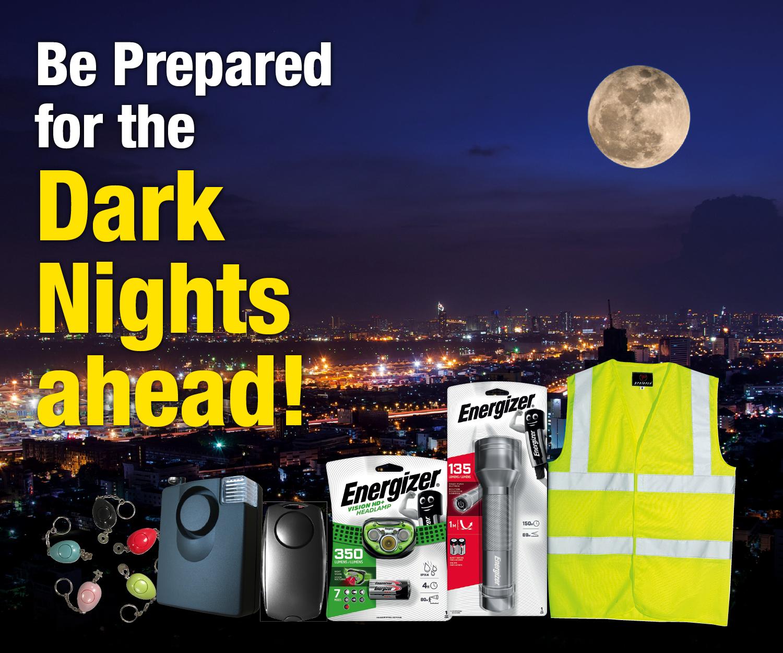 Dark Nights Ahead!