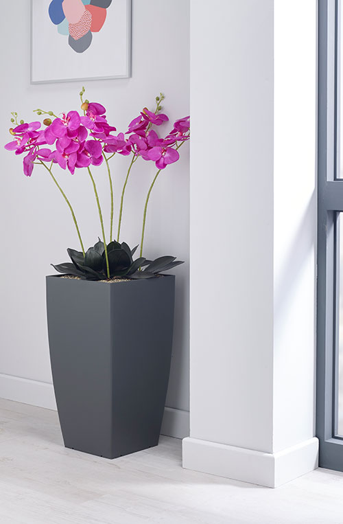 Magenta Orchid Artificial Plant