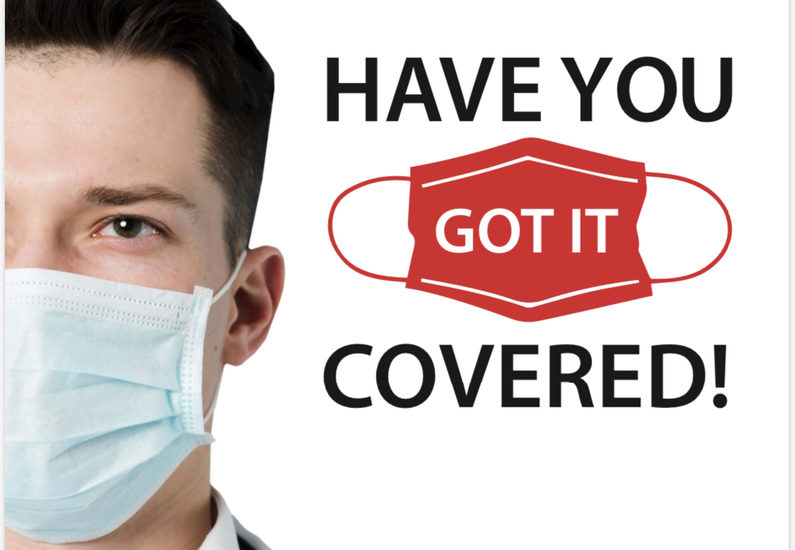 Have you got it covered? Face coverings will be a legal requirement 24 July 2020 in England