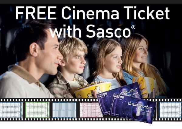 Free Cinema Ticket with Sasco