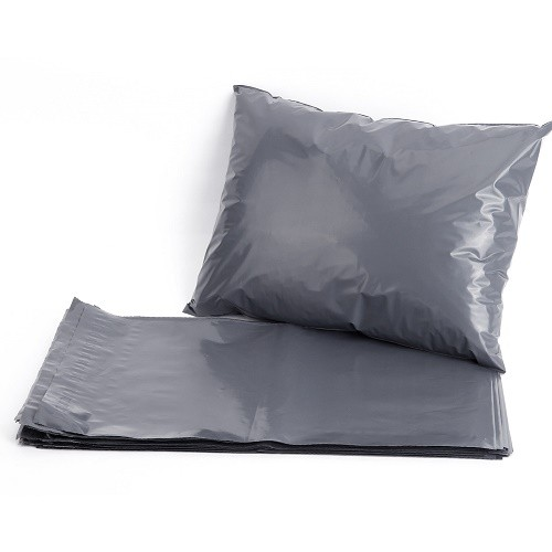 Mailing Bag 02 Grey Polythene 9x12.5 (230x320mm) Box of 500