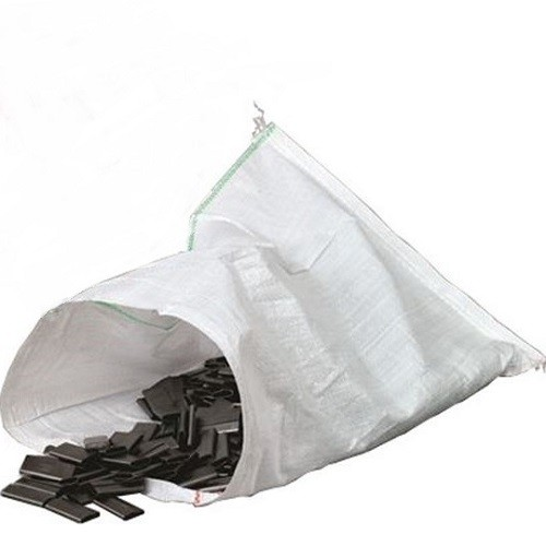 "Polyprop White Woven Sack 300x450mm (12x18"") 100/pack"