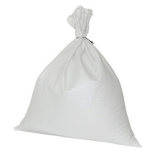 """Polyprop White Woven Sack 375x500mm (15x20"""") 100/pack"""