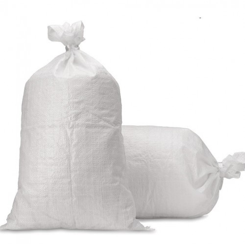 "Polyprop White Woven Sack 450x600mm (18x24"") 100/pack"