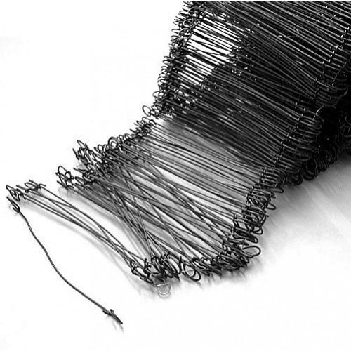 """Wire Steel Loop End Ties 8"""" (203mm) 1000/pack"""