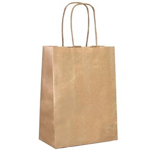 Twist Handle Brown Paper Carrier Bag (229x330x305mm) 150/box