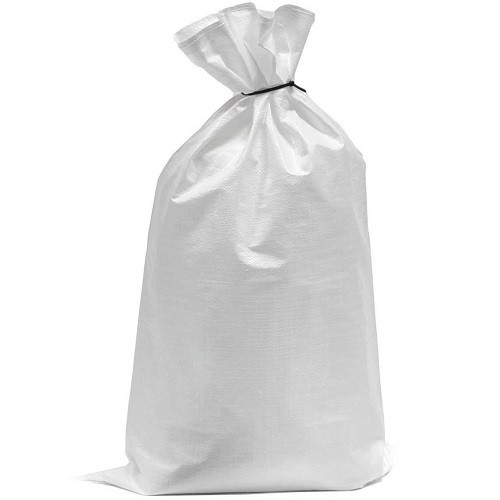"Polyprop White Woven Sack 600x1000mm (24x40"") 100/pack"