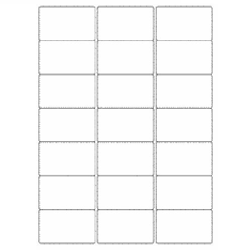 Multipurpose Labels 63.5x38mm 21 Per Sheet White (Pack of 2100)