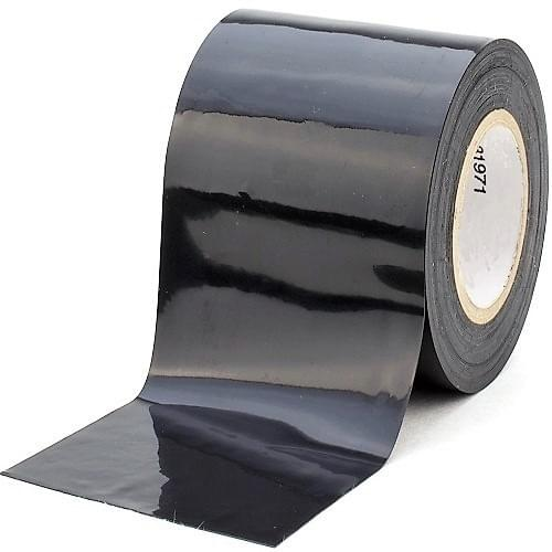 UV protect Black Low Tack Protection Tape 100mmx100m roll