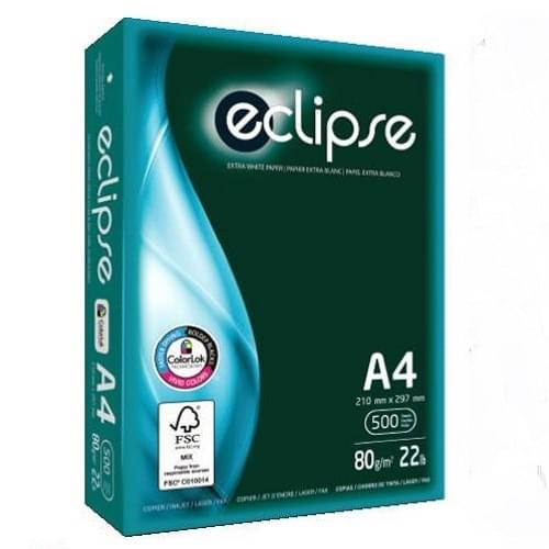 Eclipse Green Box A4 80gsm White Paper  Ream 500