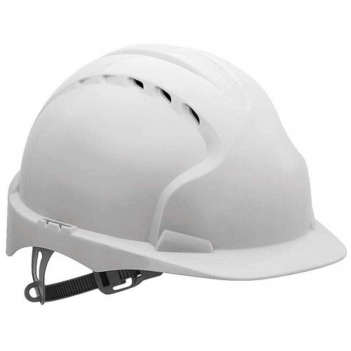 Plastic Hard Hat White Safety Helmet - Other Colours Available