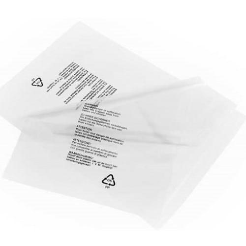 Garment Bag Resealable Clear - PP20 T-Shirt/Cap bag 10x12+1.5