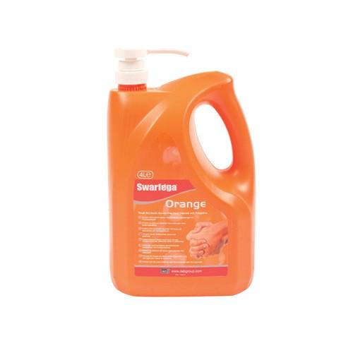 Swarfega Orange Hand Cleanser 4L Pump pack