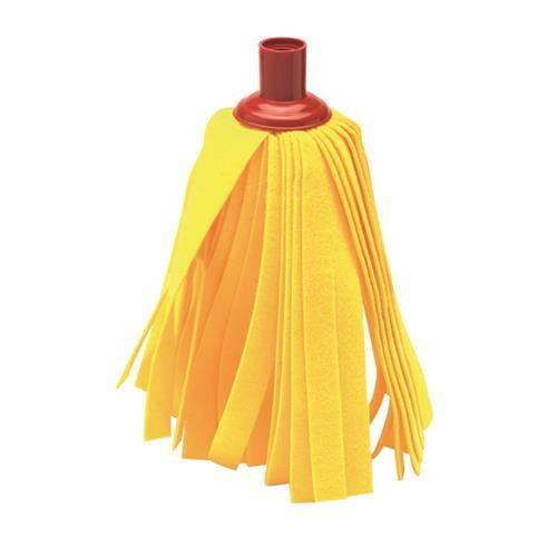 Yellow Cloth Mop Refill Red Socket