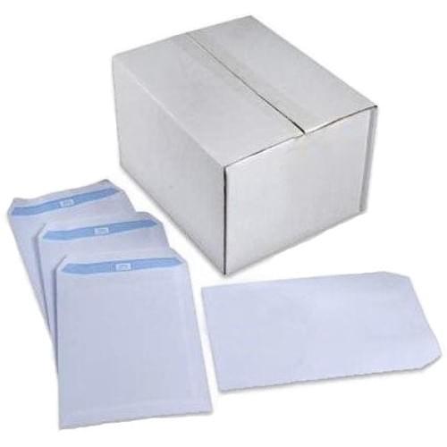 Envelope C5 229x162mm White Self Seal 90gsm Box 500