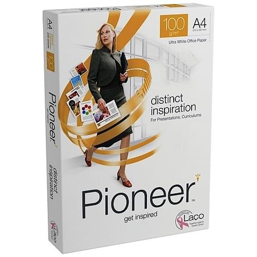 Pioneer A4 100gsm White Paper  Ream 250