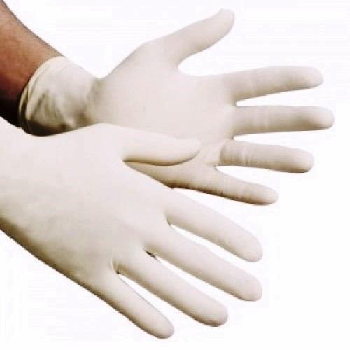 Latex Gloves Powdered Medium  100/box