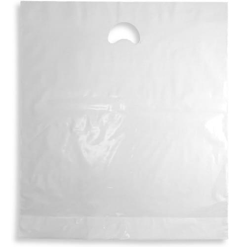 White Polythene Varigauge Carrier Bag (375x450mm) 500/box