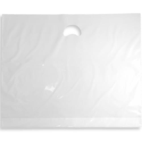 Polythene Varigauge Carrier Bags - White (559x457mm) 500/box