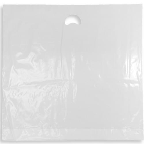 White Polythene Varigauge Carrier Bag (600x575mm) 250/box