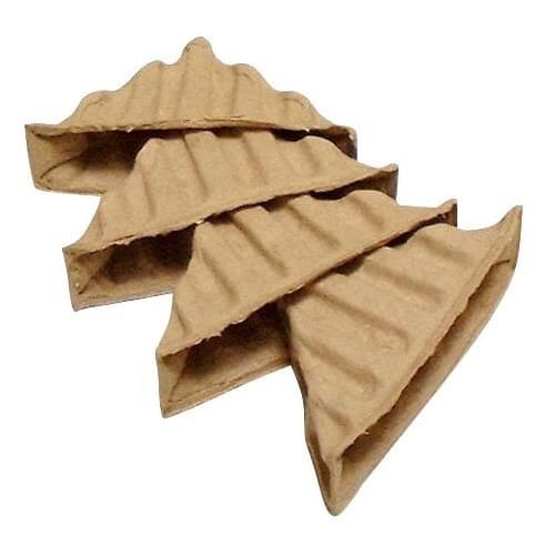 Paper Pulp Corner Protector Ribbed  10-65  160/box