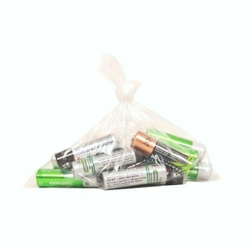 """Polythene Bag 5x7"""" 120g (127x178mm) 1000/pack"""