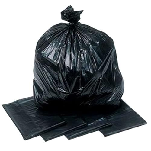 Refuse Sack Black SQ 140g  18x29x34  Volga