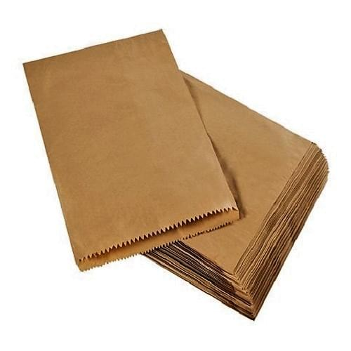 Strung Brown Paper Bag (230x355mm) 1000/pack