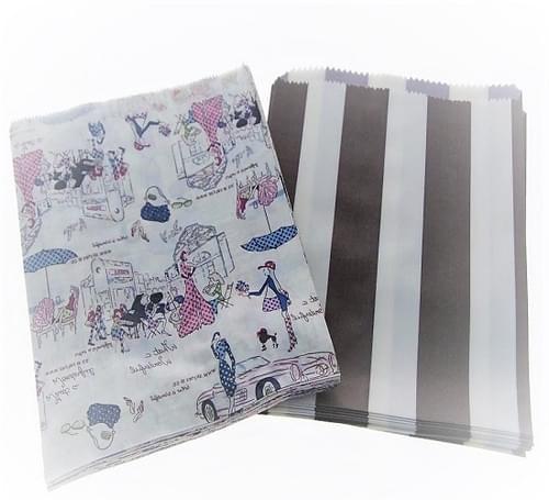 Unstrung Random Pattern Paper Bag (325x350mm) 500/pack