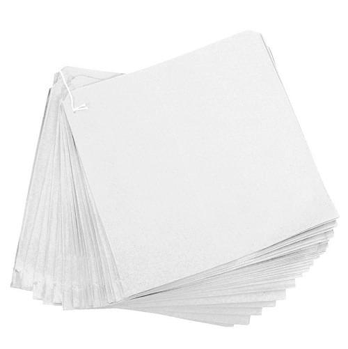 Strung White Paper Bag (250x250mm) 1000/pack